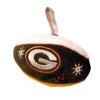 Mini Football Ornament - Green Bay Packers