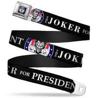 Joker Presidential Seal Full Color Black White Blue Red The Joker For Seatbelt Belt