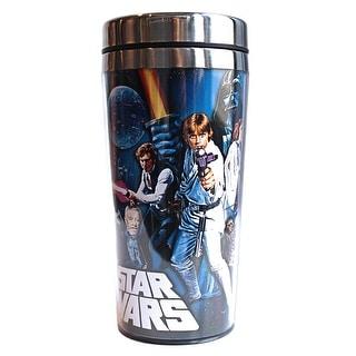 Star Wars Poster 16oz Steel Travel Mug