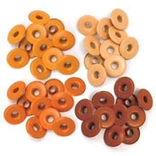 Orange - Eyelets Wide 40/Pkg
