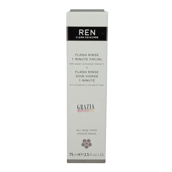 REN Skincare Flash Rinse 1 Minute Facial - 2.5 Oz