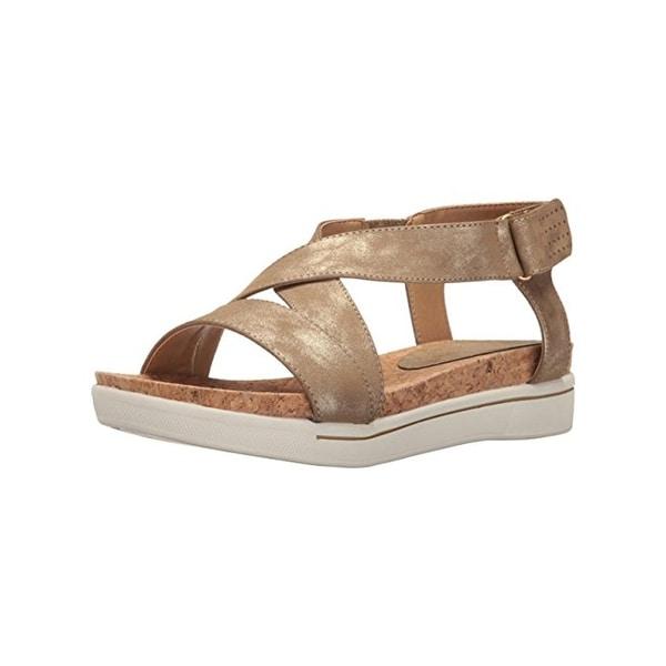 Adrienne Vittadini Womens Celie Wedge Sandals