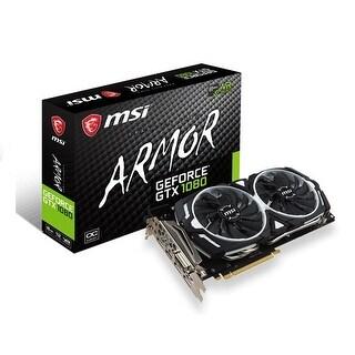 MSI G1080AR8C GeForce GTX 1080 ARMOR 8GB GDDR5X OC Graphic Card