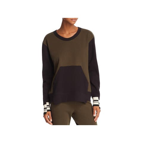 Wilt Womens Sweatshirt Crewneck Striped - S