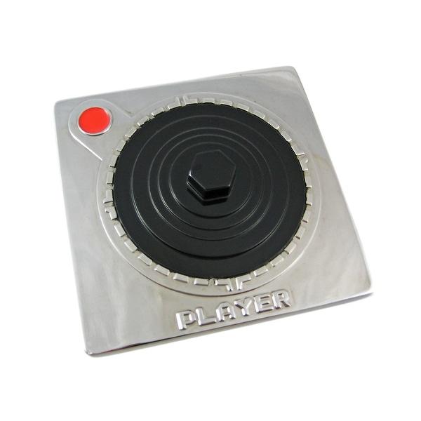Old School Video Game Joystick Belt Buckle `Player`
