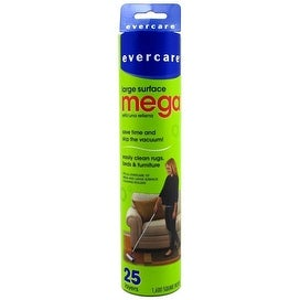 Evercare Mega Cleaning Roller Refill, 10 inches, 25 sheets, 1 ea