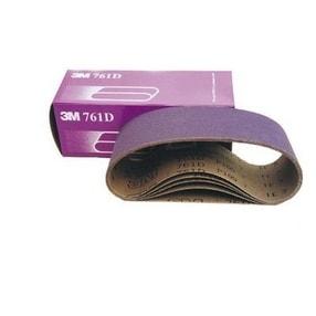 "3M 81401 Regalite Sanding Belt, 80 Grit, Purple, 3""X21"""