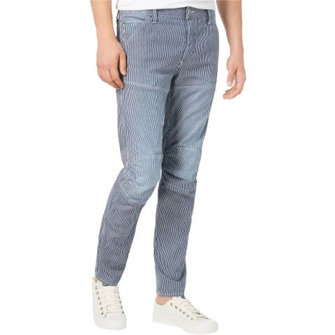 G-Star Raw Mens Patched Slim Fit Jeans, blue, 33W x 32L