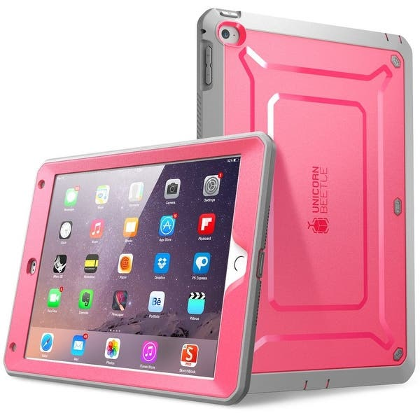Ipad Air 2 Case Supcase Unicorn Beetle Pro Apple Ipad Air 2 Case Protective Case Pink Gray Overstock 16774883