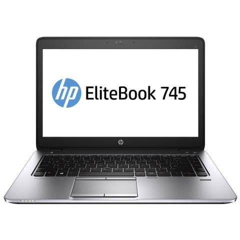 "HP Elitebook 745G2 14"" Laptop AMD A10-7350B 2.1G 8G RAM 480G SSD WIFI Windows 10 Home (Refurbished A Grade)"