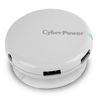 Cyberpower Cph430pw 4 Port Usb 3.0 Superspeed Hub - White