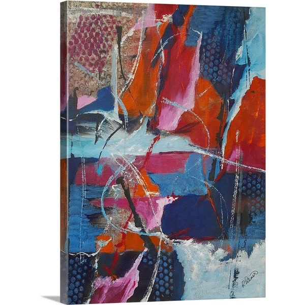 """""""Rough And Tumble"""" Canvas Wall Art"""