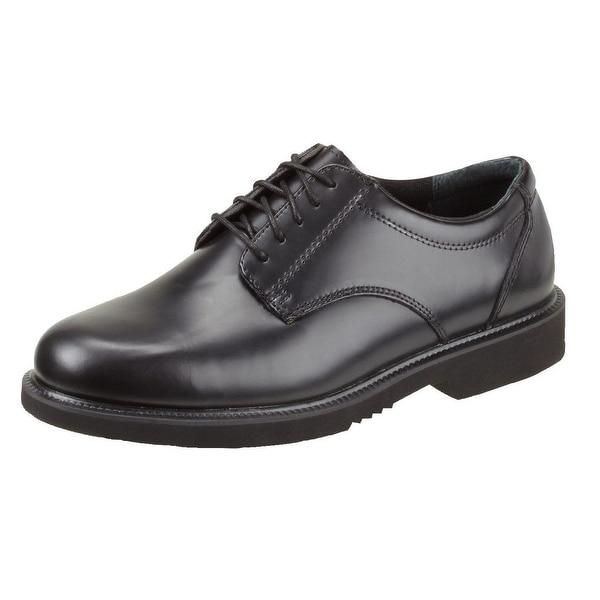 Thorogood Work Shoes Mens Uniform Academy Oxford Black