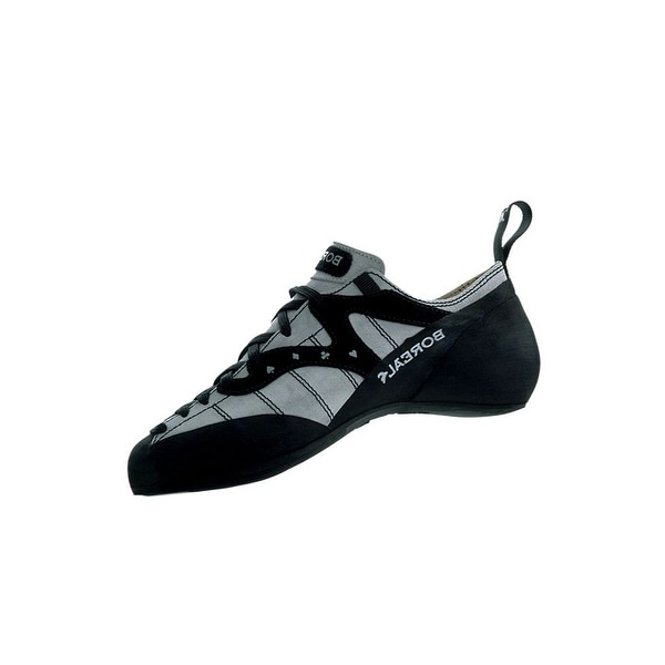 Boreal Climbing Shoes Mens Lightweight AS Ace Leather Black Gray