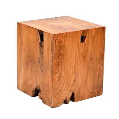 Palmilla Teak Outdoor Root Side Table