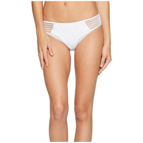 Kenneth Cole Reaction White Womens Size Medium M Swim Bikini Bottom