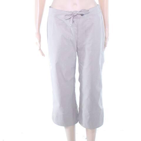 prAna Womens Pants Khaki Beige Size Small S Capris Cropped Stretch