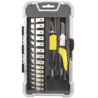 General Tools 95618 Precision Hobby Knife Set, 18 Piece