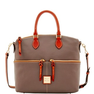 Dooney Bourke Pebble Grain Double Pocket Satchel Introduced By At 248