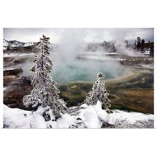 """Montana's Yellowstone National Park in Montana."" Poster Print"