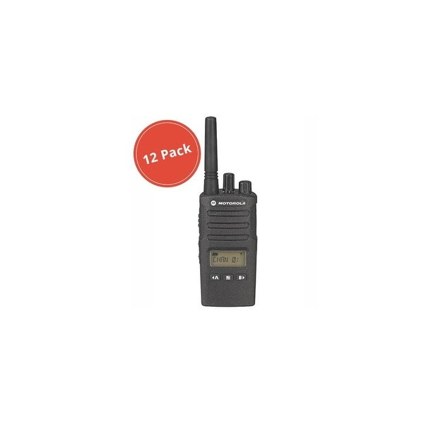 Motorola RMU2080D (12 Pack) Two Way Radio - Walkie Talkie