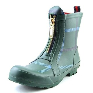 Tommy Hilfiger Ryann 2 Women Round Toe Synthetic Green Rain Boot