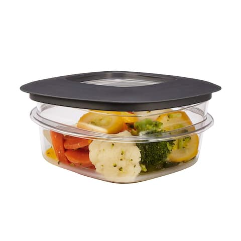 Rubbermaid 1937646 Premier Stain Shield Food Storage Container, 1.25-Cup