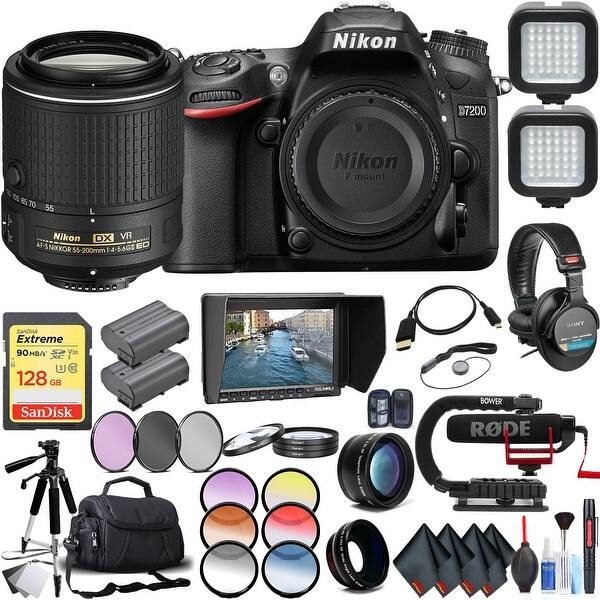 375faaa88 Shop Nikon D7200 DSLR Camera (Body Only) with Nikon AF-S DX NIKKOR ...