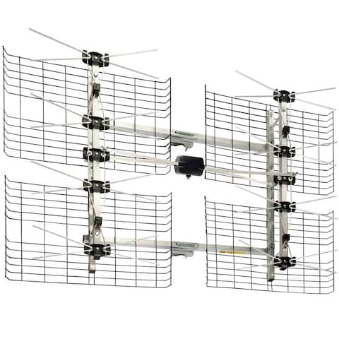 Antennas Direct High Gain Bowtie Indoor/Outdoor HDTV Antenna 8DXB 60 Mile Range