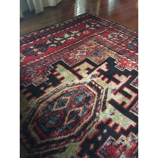 Safavieh Vintage Hamadan Traditional Red/ Multicolored Rug - 9' X 12'