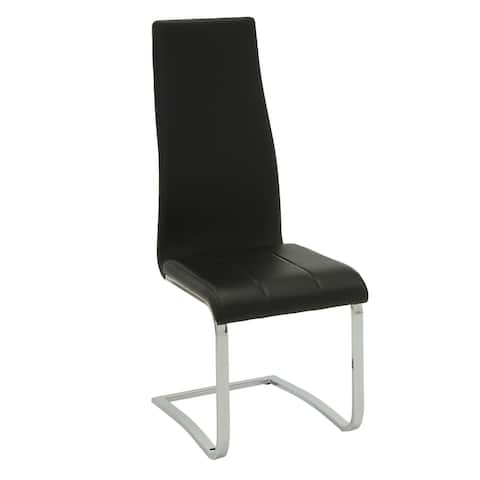 Varela Upholstered High Back Side Chairs (Set of 4)