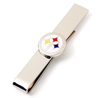 Pittsburgh Steelers Tie Bar - Silver