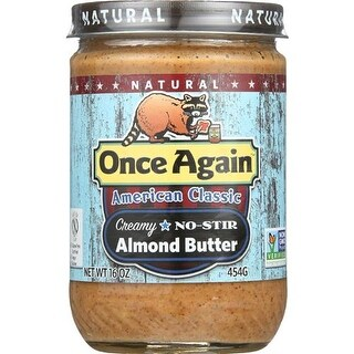 Once Again - Natural Classic No Stir Almond Butter ( 12 - 16 OZ)