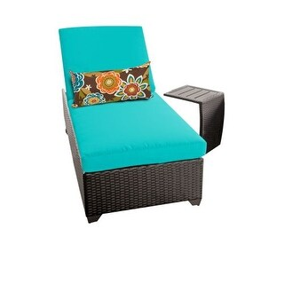 Miseno MPF-CLASC1X-ST Traditions 2-Piece Aluminum Framed Outdoor Chaise Lounge Chair Set with Side Table