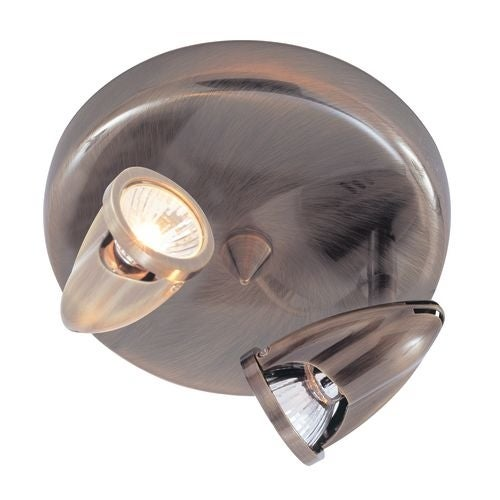 Trans Globe Lighting 461 Two Light Down Lighting Track Light from the Modern Track Collection