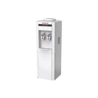 Honeywell HWB1052W2 39-Inch Freestanding Water Cooler Dispenser, Hot and Cold Temperatures with ther - White