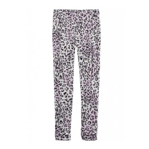 Justice Girls Printed Stretch Athletic Track Pants - 5