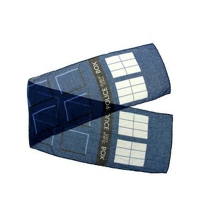Doctor Who TARDIS Lightweight Adult Costume Scarf