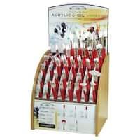 ColArt WN5418004 Bright Long Handle Brush No. 4
