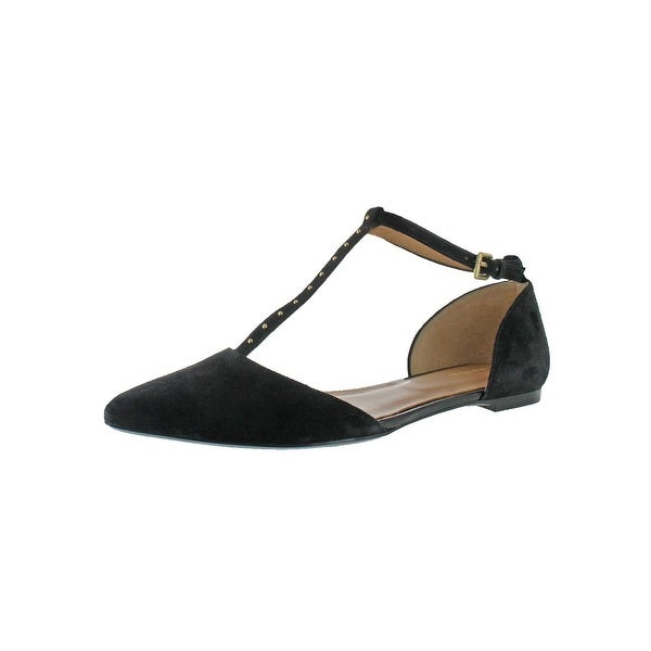 Calvin Klein Womens Gina T-Strap Sandals Dress Sandals - 10 medium (b,m)
