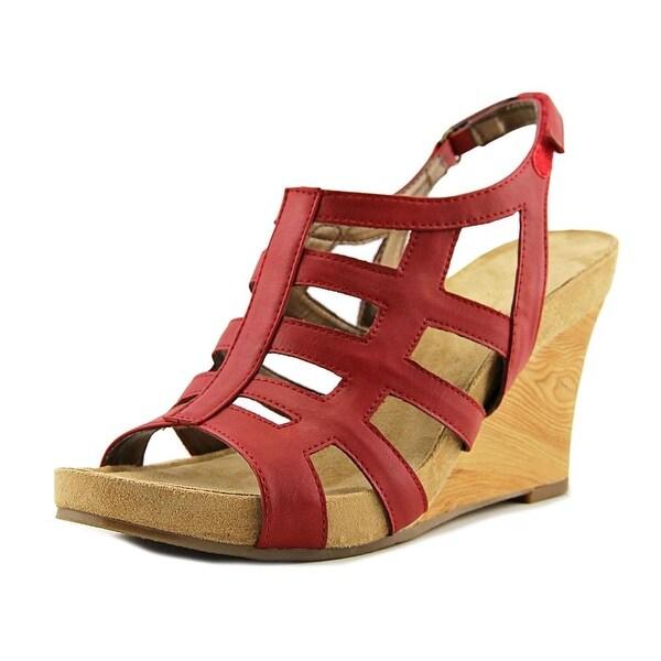 Aerosoles Mint Plush Women Red Sandals