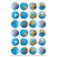 Globes Stickers