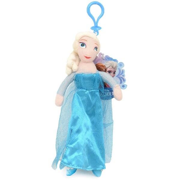 """Frozen 6"""" Plush Coin Purse- Elsa - Blue"""