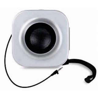 iSound GoSound Square Speakers Silver