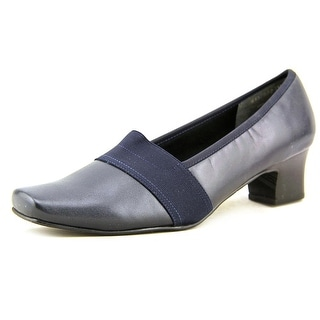 Mark Lemp By Walking Cradles Logic Square Toe Leather Heels