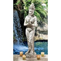 Design Toscano Thai Teppanom Beautiful Being Statue: Medium
