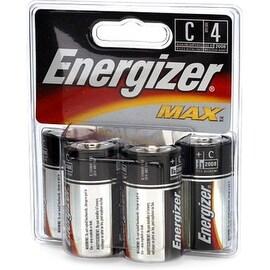 Energizer MAX C Alkaline Batteries 4 Ea