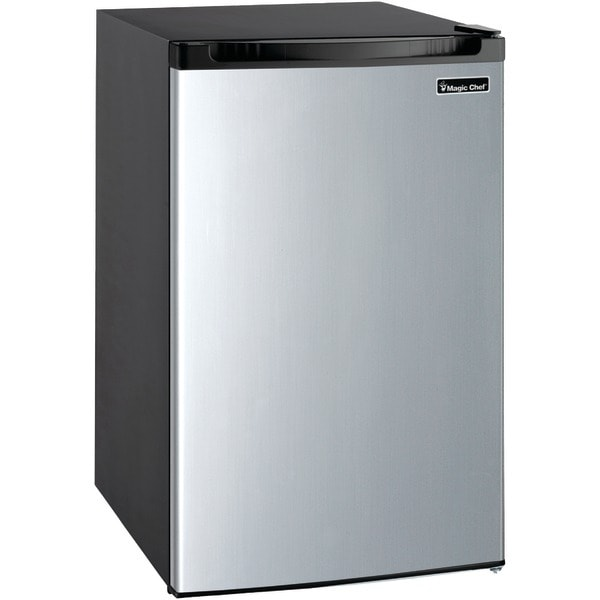 Magic Chef Mcbr440S2 4.4 Cubic-Ft Refrigerator (Stainless Look)