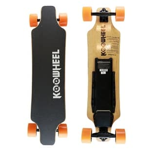 KooWheel D3M+ Electric Skateboard Orange|https://ak1.ostkcdn.com/images/products/is/images/direct/1d4f7c1d6e542a6b02a45189b36fb623277cce74/KooWheel-D3M%2B-Electric-Skateboard%2C-Orange-Wheels.jpg?impolicy=medium