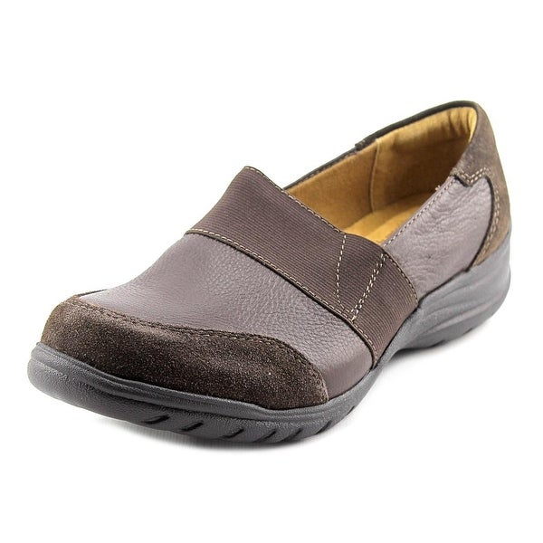 Softspots Adlepha Women W Round Toe Leather Brown Loafer